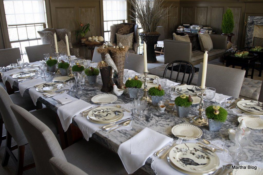 table decoration ideas for dinner party