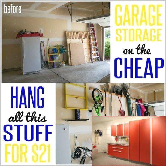 Garage Storage For Yard Tools And Pics Of Garage Organization