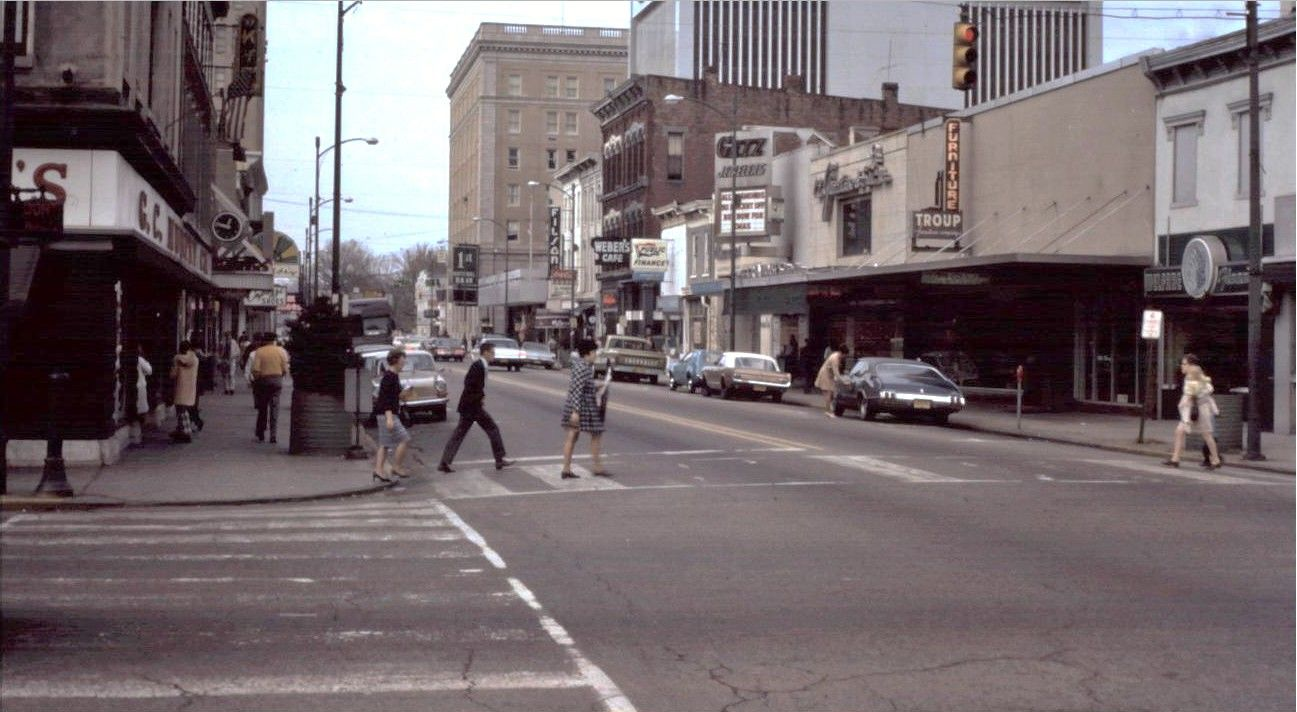 Central Ave. looking west 1971 Art and craft videos