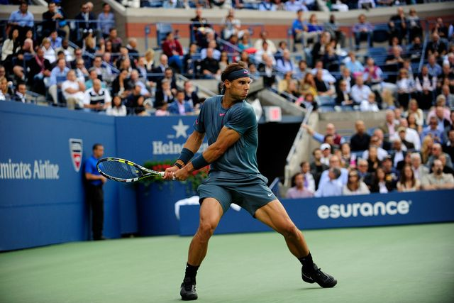 Nadal Tops Djokovic For Second Us Open Crown Tennis Championships Tennis Us Open