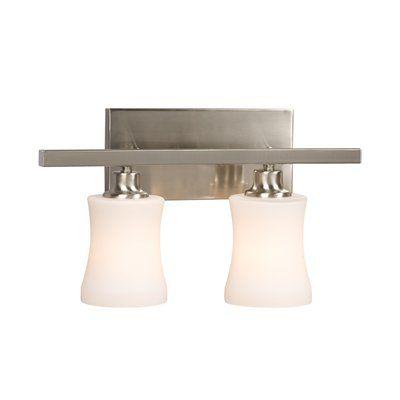 Galaxy lighting 710152 2 light delta bathroom light lowes canada