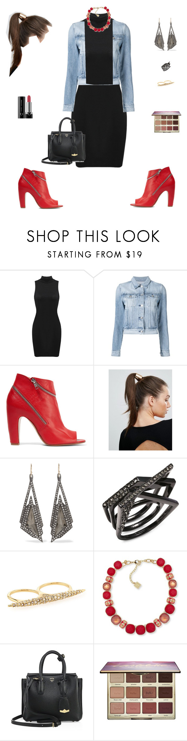 """cap #04"" by natashaaveiga ❤ liked on Polyvore featuring 3x1, Maison Margiela, Johnny Loves Rosie, Alexis Bittar, Anne Klein, MCM, tarte and Marc Jacobs"