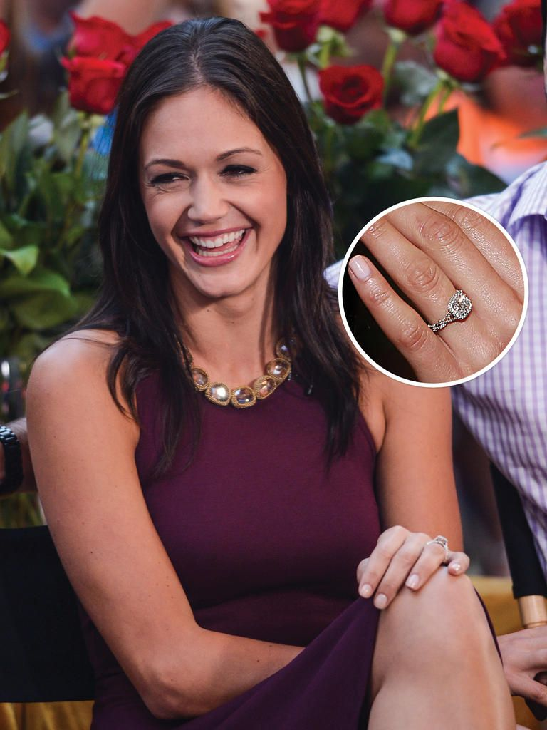 12 Of Our Favorite Engagement Rings From 'the Bachelorette' And 'the  Bachelor'