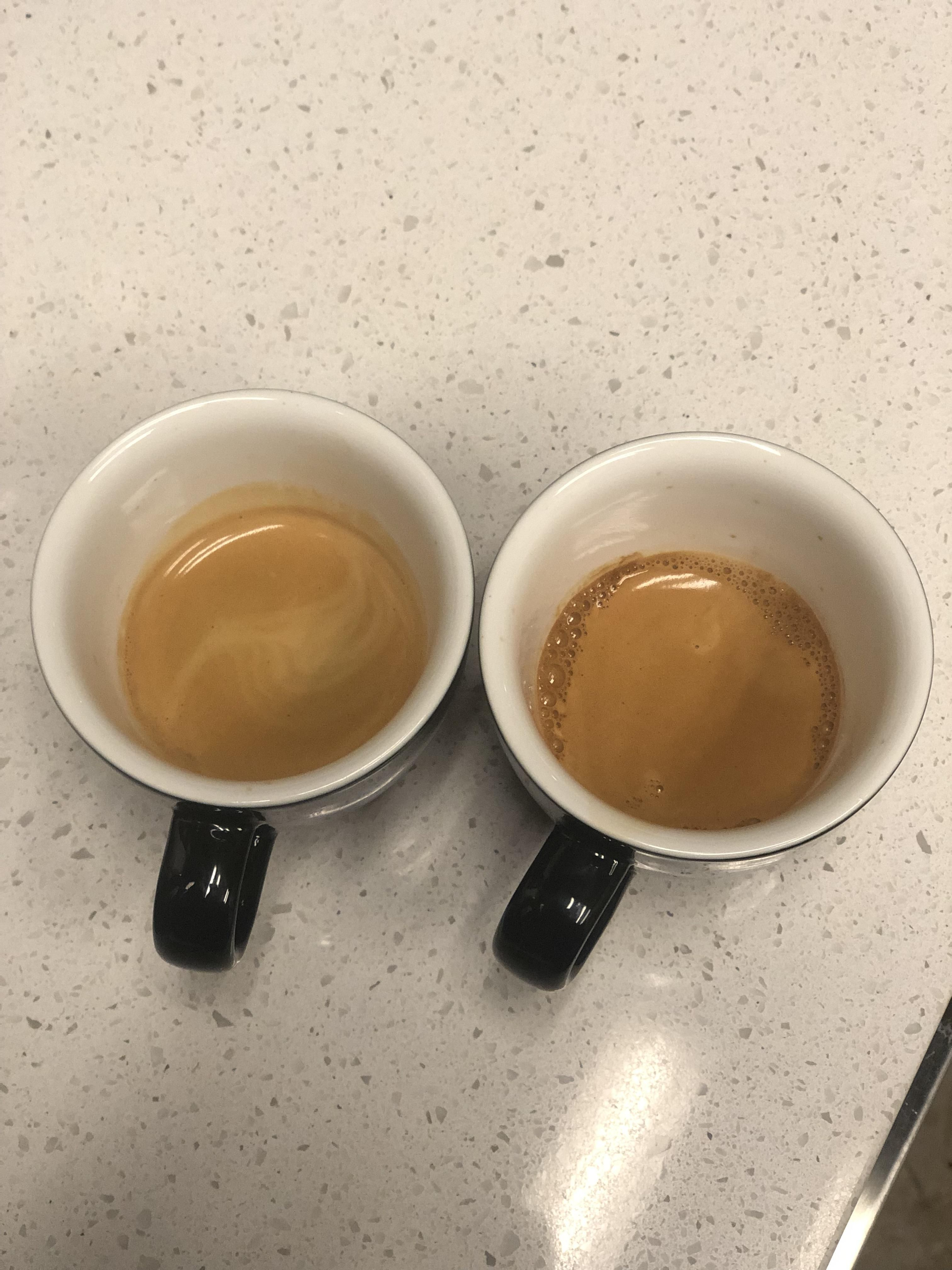 Pulling Shots Is My Favorite Part Of Opening 17g In 50g Out On A 2 Group Head La Marzocco Strada Coffee Addict Coffee Bean Grinder Best Coffee