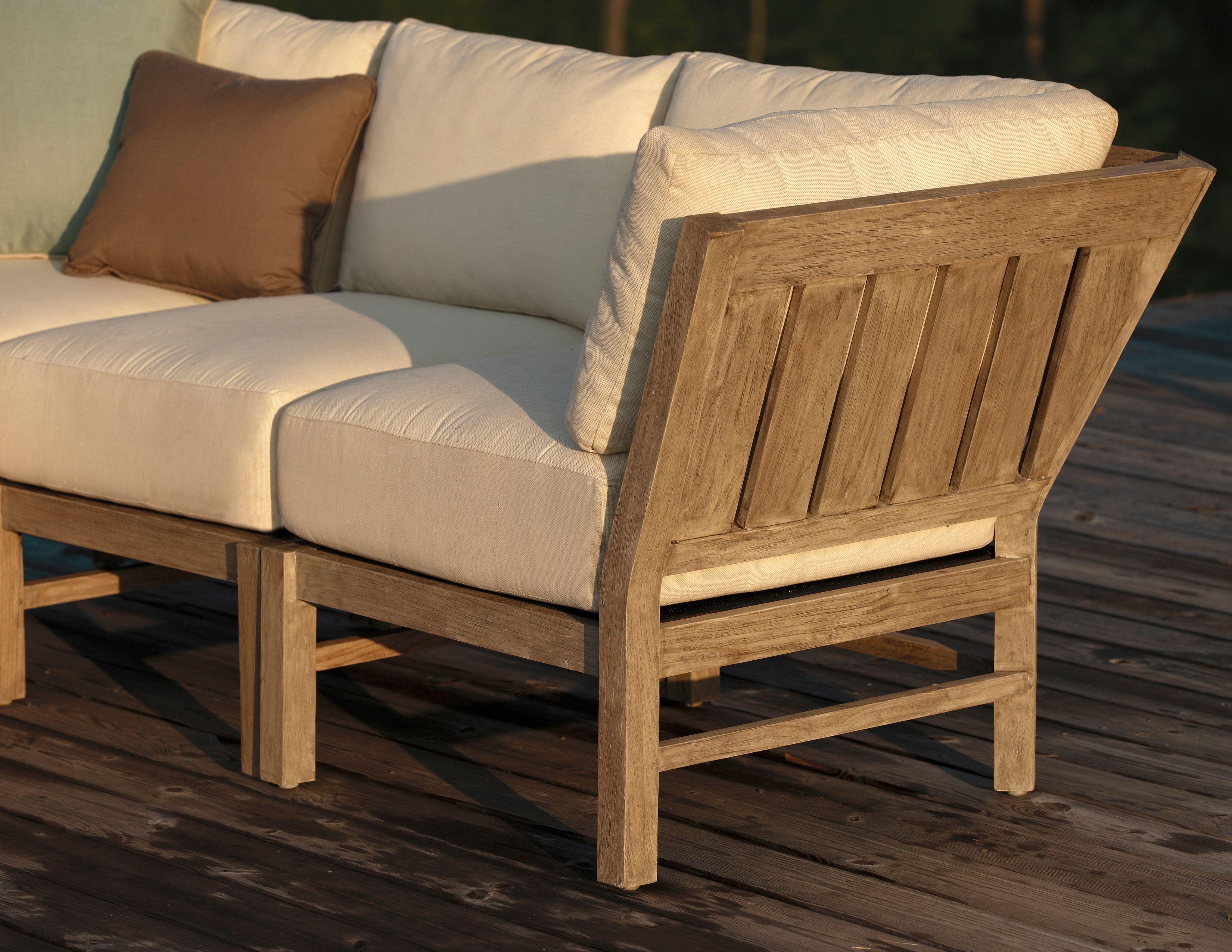 Teak Outdoor Sectional Sofa hmmi