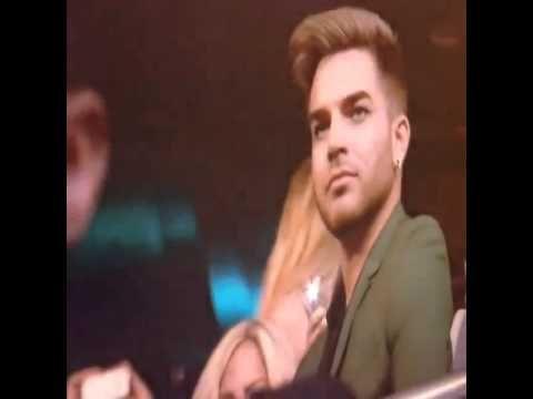 Adam Lambert Bopping his head to Kendrick Lamar