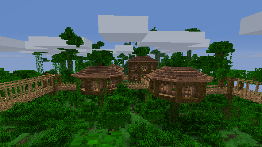 Cool Minecraft Tree House Minecraft Tree Cool Minecraft