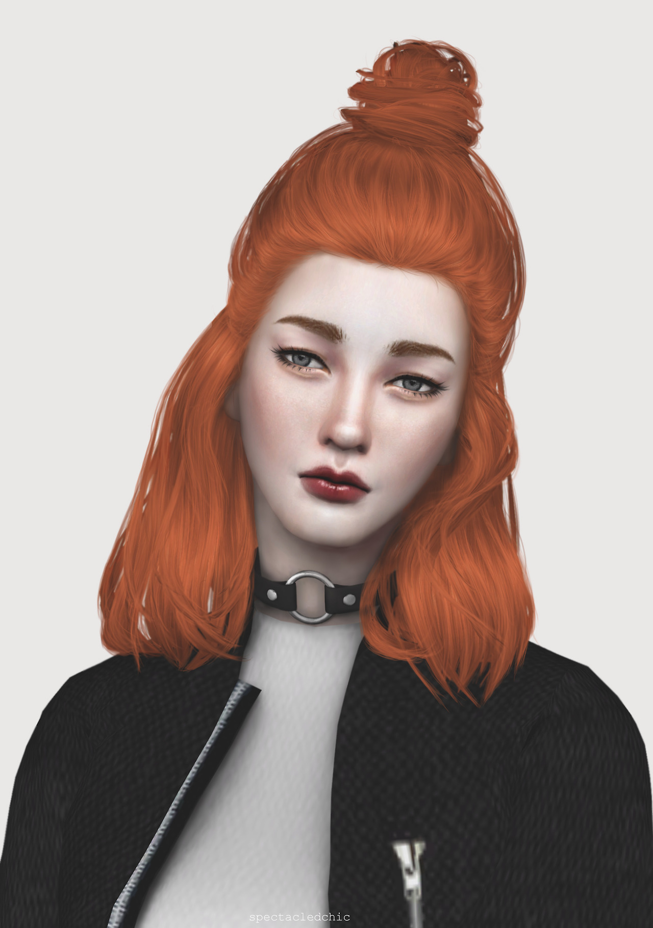 Image result for sims 4 red hair lookbook Sims 4 cc