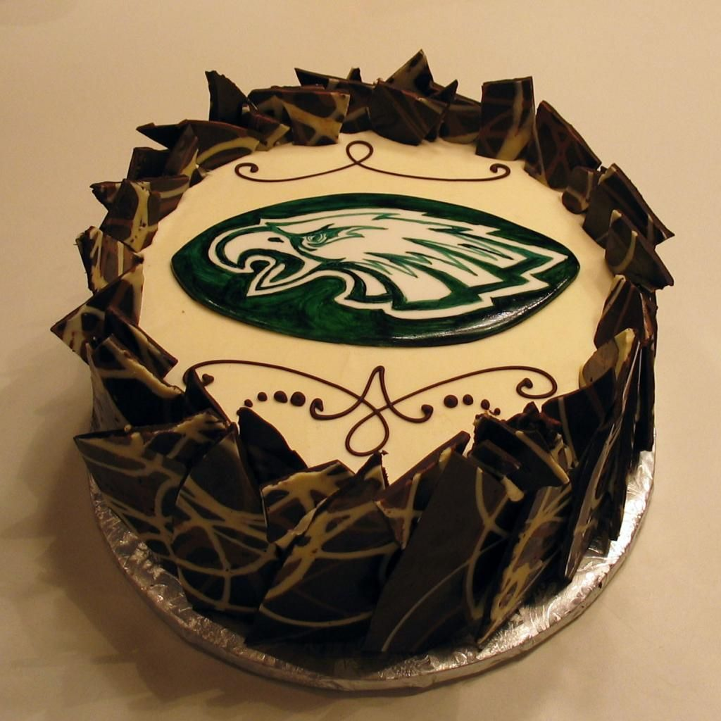 Eagles Chocolate Fortress Groom S Cake Www Artisticdesserts Com