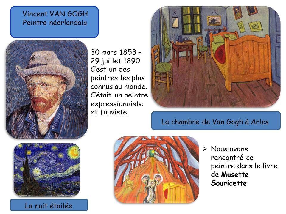 Odile Jaccard (odilejaccard) on Pinterest - Description De La Chambre De Van Gogh