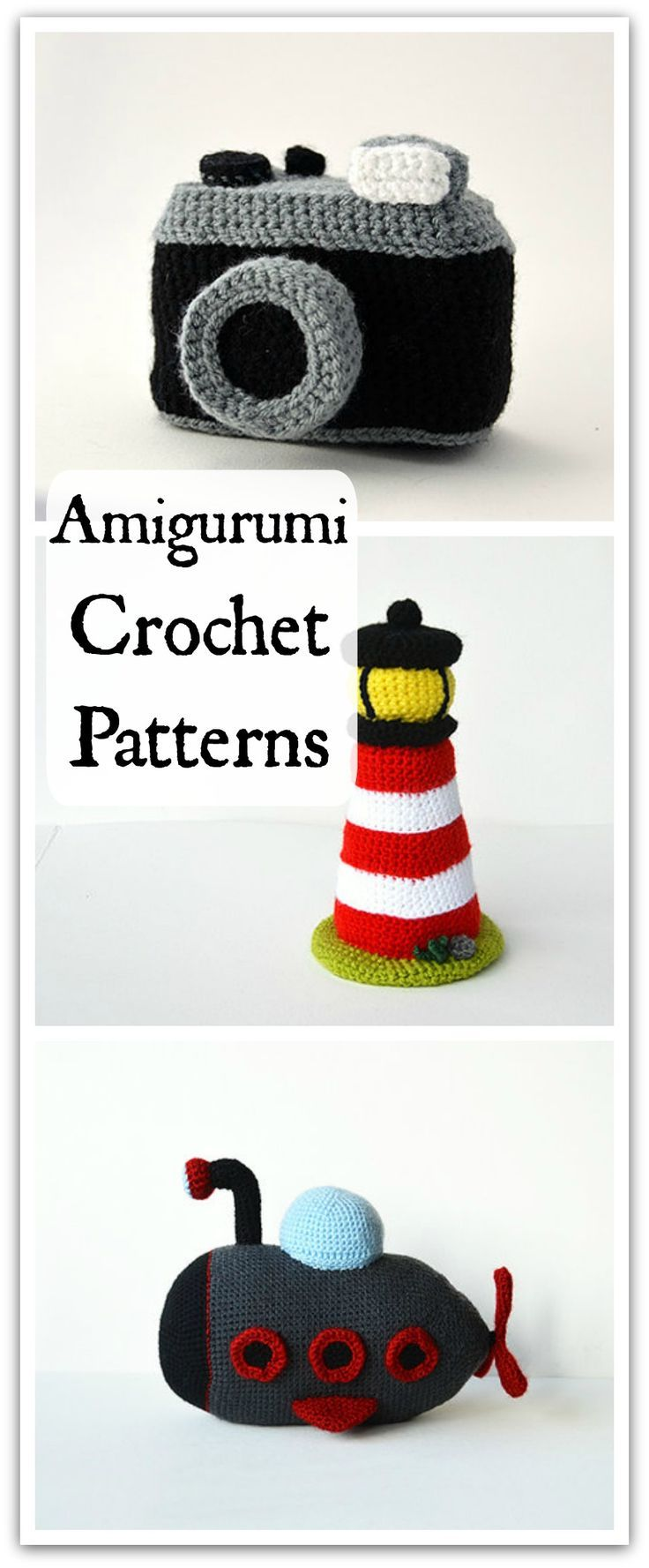 Amigurumi Crochet Pattern -Toy CROCHET PATTERN - This is the place ...