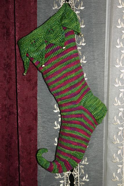 Firstborn Elvish Christmas Stockings pattern by Lorna Pearman ...