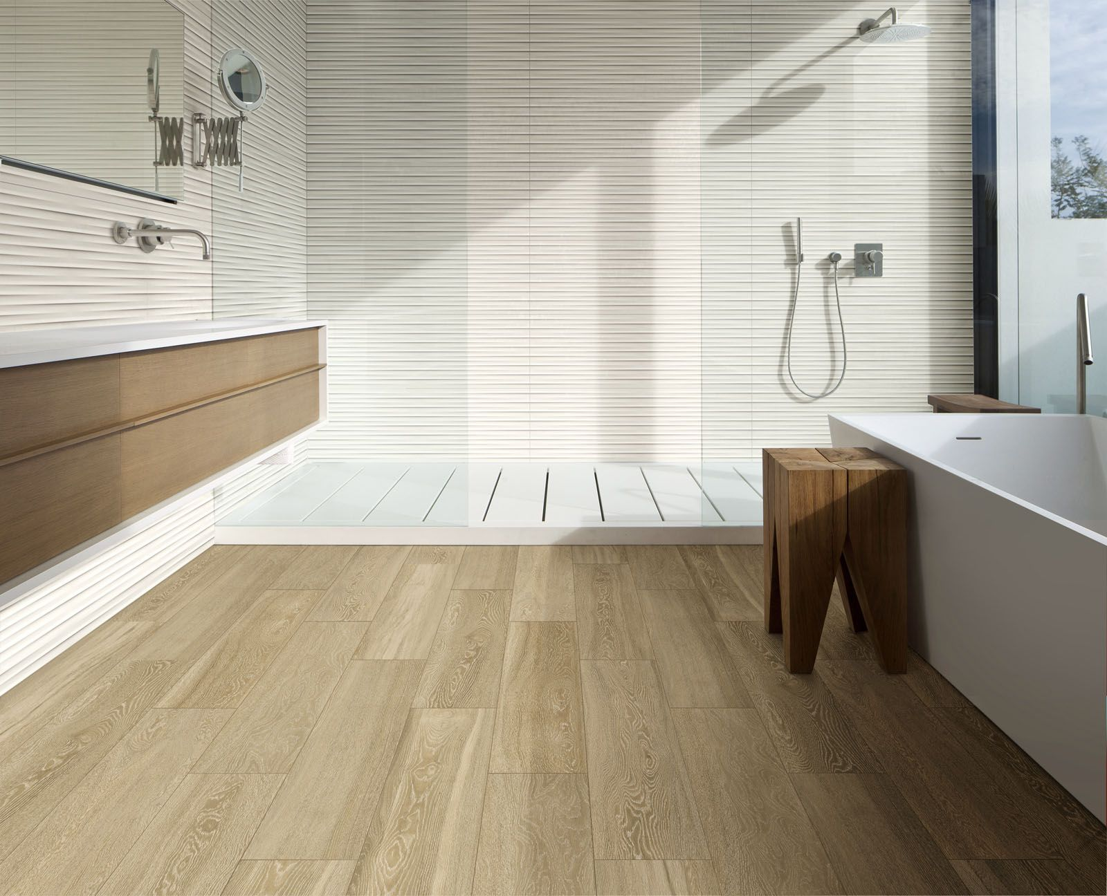 Marazzi #Treverkview #woodlook #woodtiles #ceramics #bathroom ...