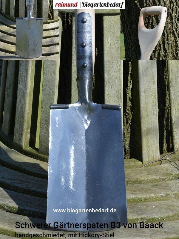 Baack Schwerer Gartnerspaten B3 Spaten Gartenwerkzeug Werkzeug