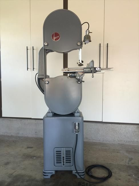 Delta Manufacturing Co Model 890 Band Saw Vintagemachinery Org Woodworking Tools For Sale Woodworking Tools Woodworking