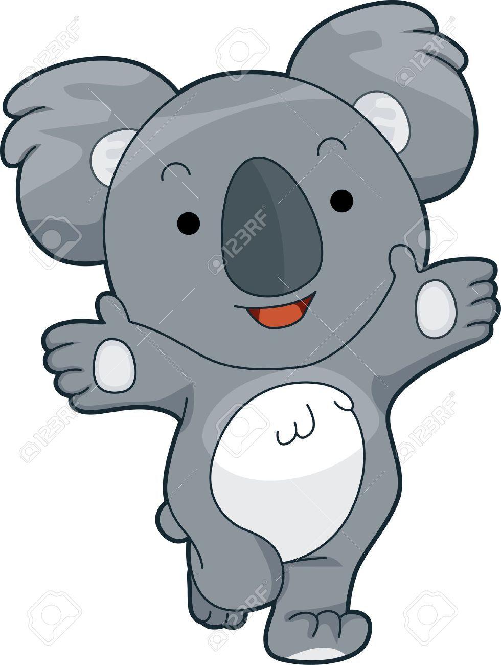 Cute Animal Clipart Koala Animal Clipart