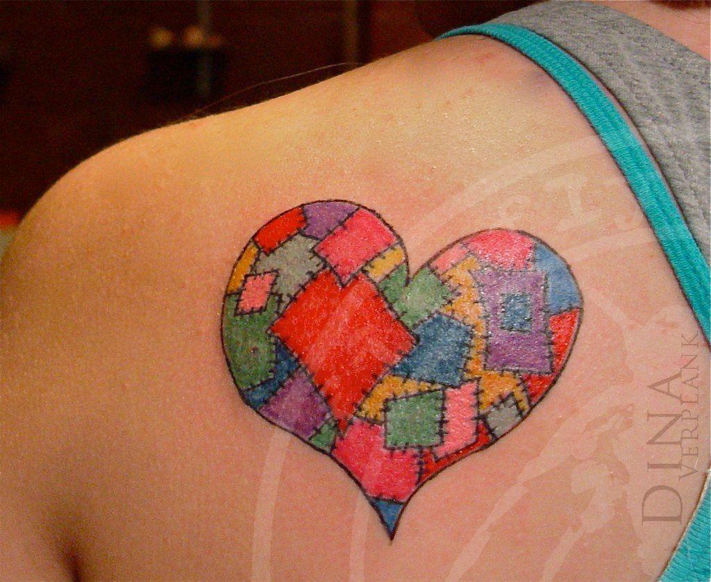 patchwork heart tattoo firefly tattoo | Tattoo | Pinterest ... : quilt tattoo - Adamdwight.com