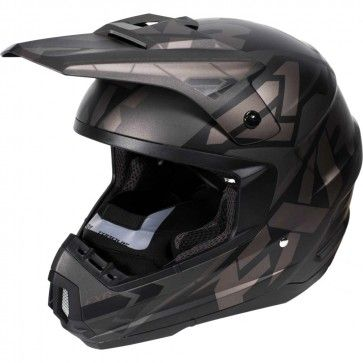 FXR Torque Core Black Ops Mens Sled Winter DOT Sports Snowmobile Helmets