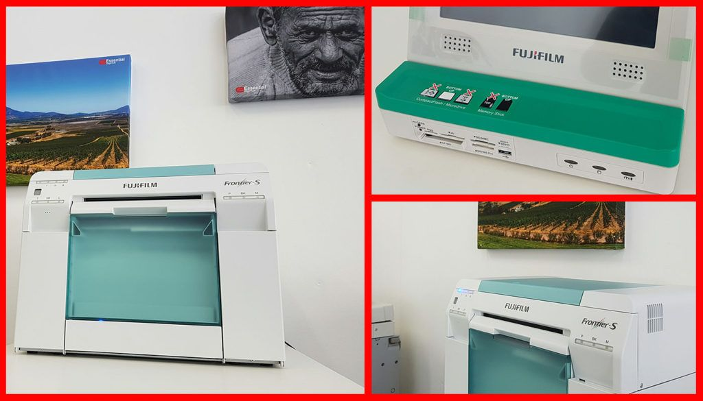 FujiFilm DryLab Photo Printing Kiosk