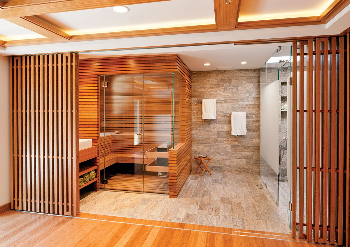 Best of boston home 2014 the winners list boston home for Master bathroom with sauna