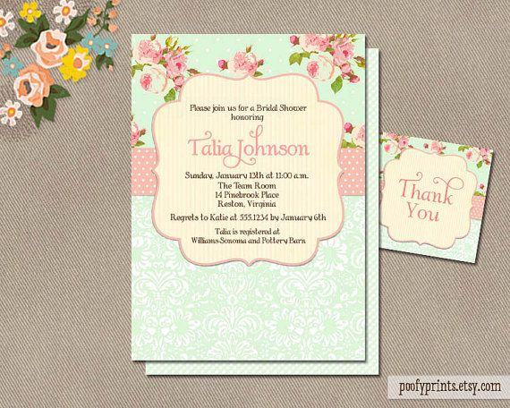 Shabby chic bridal shower invitations free by poofyprints on etsy shabby chic bridal shower invitations free by poofyprints on etsy filmwisefo