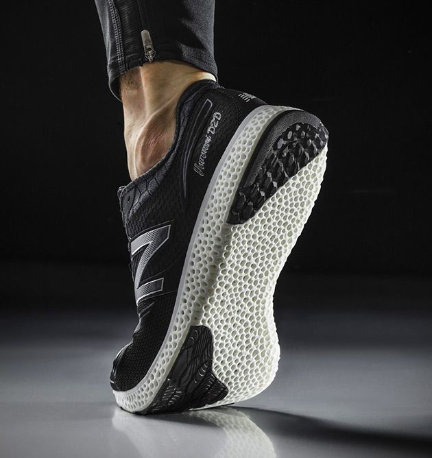 There are 3D-Printed Cars, Houses, Food and Now, New Balance ...