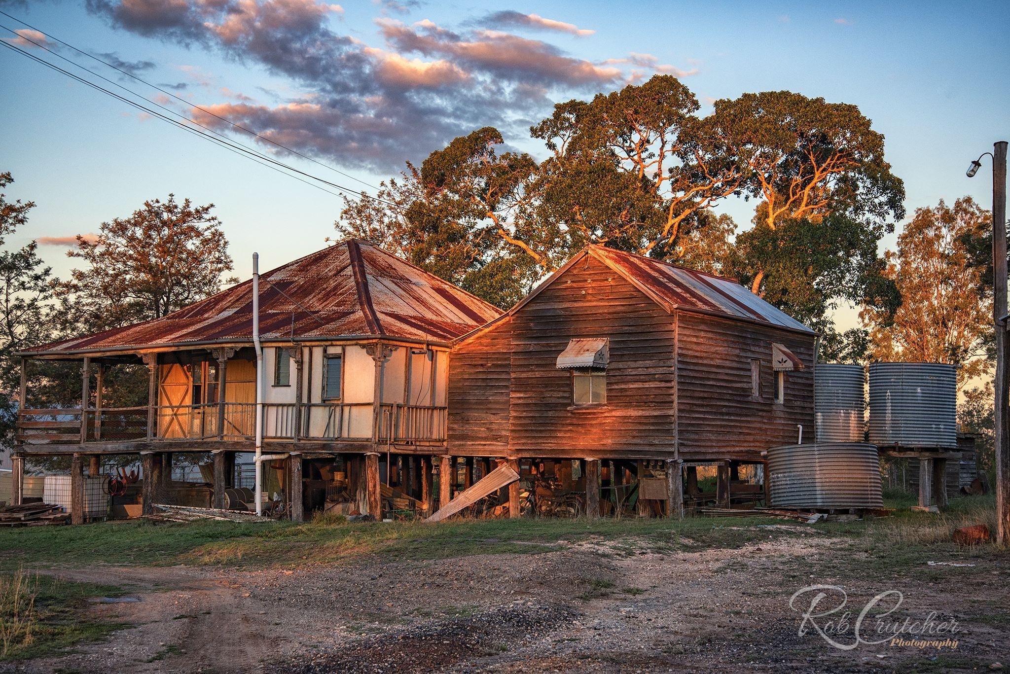 Abandoned farm house, Somerset Region, S E Queensland