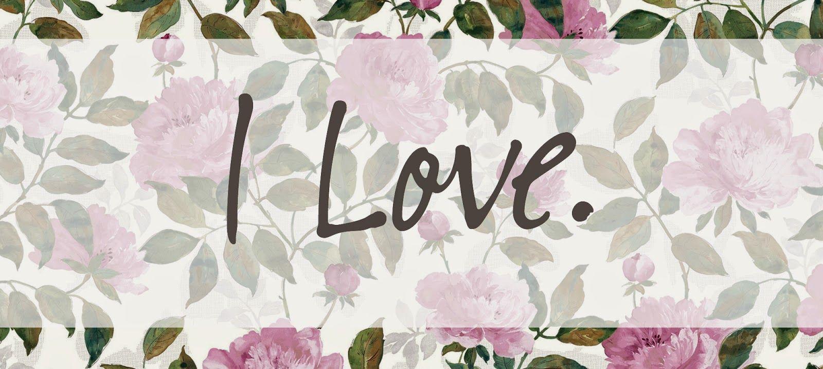 little & loved: I Love | October