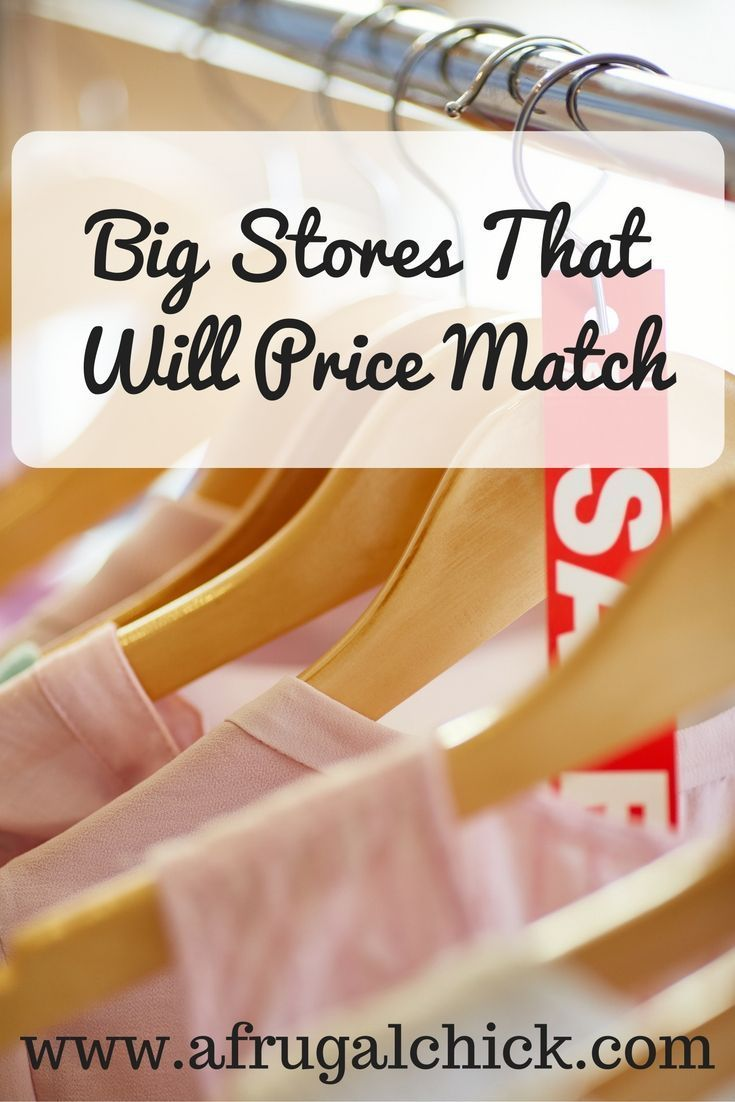 Big Stores That Price Match- Save Money With The Right Info