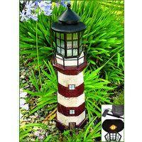 Solar Lighthouse Garden Decoration, Model# C5116B