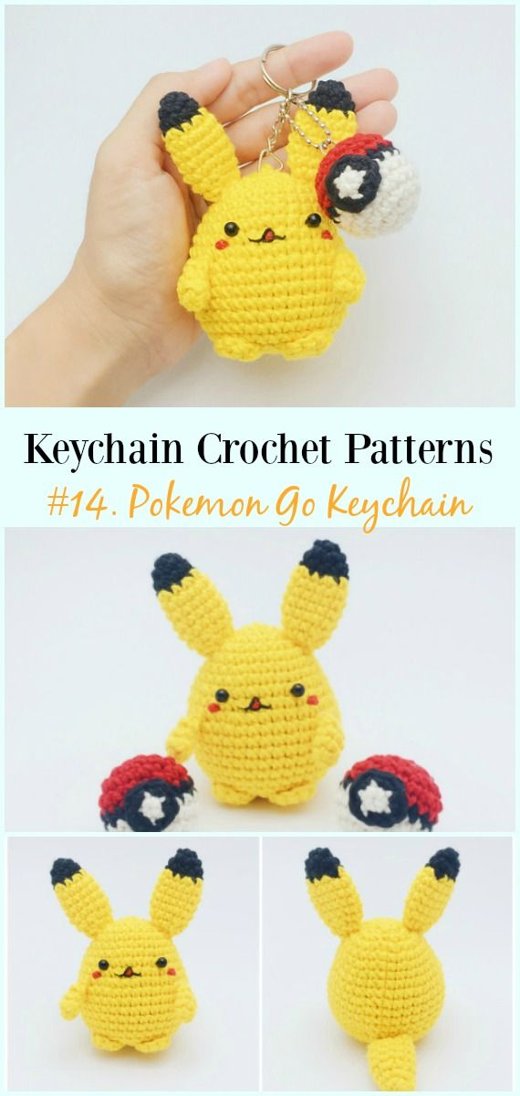 Pikachu and Pokeball Pod pattern | Amigurumis pokemon, Ganchillo ... | 1200x570