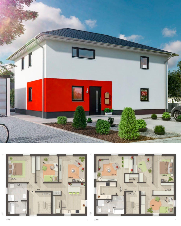 Zweifamilienhaus modern mit Einliegerwohnung & Walmdach