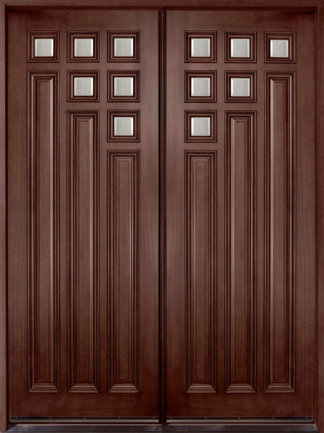 Wooden Double Door Designs For Houses Modern Front Double