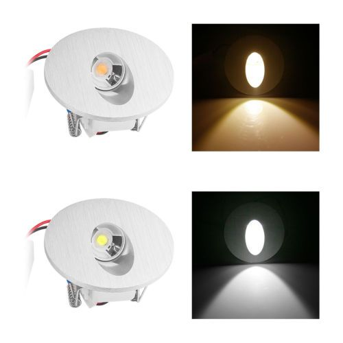 12V LED Louvered Recessed Step and Deck Light MDL Ltg  2.5 Watt