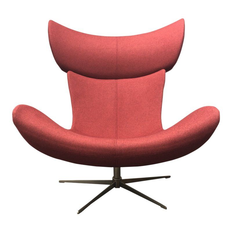 Incredible Boconcept Imola Red Luxe Upholstered Swivel Chair Products Gmtry Best Dining Table And Chair Ideas Images Gmtryco