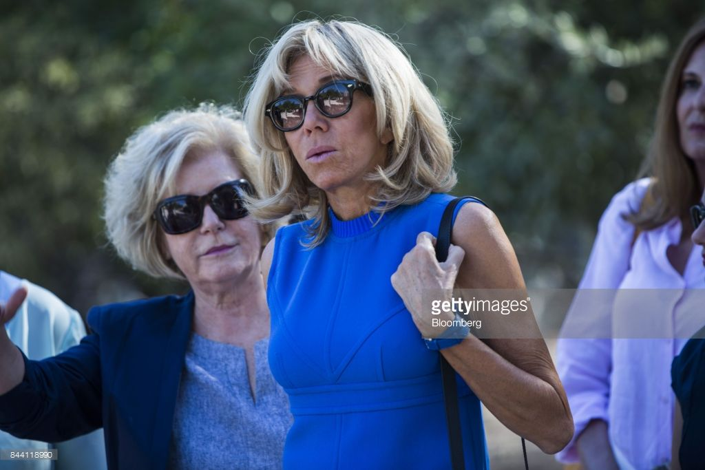 Brigitte Macron France S First Lady Center Visits The Ancient