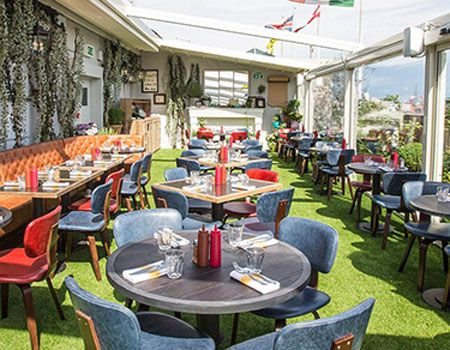 Reiss Guide : @barchick  share their best rooftop bars in London - Q On The Roof at Selfridges