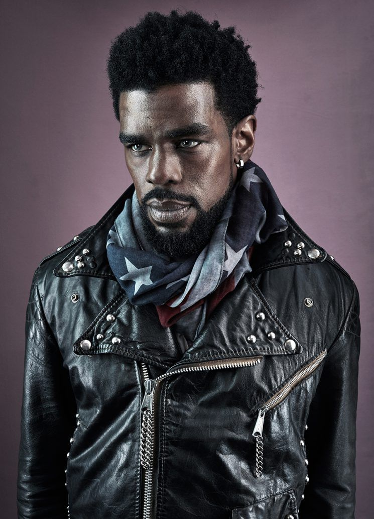 Guzman Photograph Actor Mustafa Shakir For Spirit Flesh Magazine