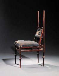 An Oak 'Greek' Side Chair E.W Godwin, England