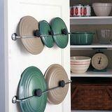 Organize your pot lids.