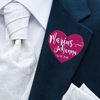 Hochzeitsanstecker Fur Gaste Tipps Ideen Inspirationen Hochzeitsanstecker Hochzeit Anstecker