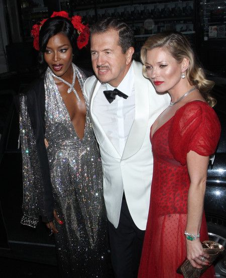 Mario Testino's 60th Birthday Party at the Chiltern Firehouse in London – Vogue