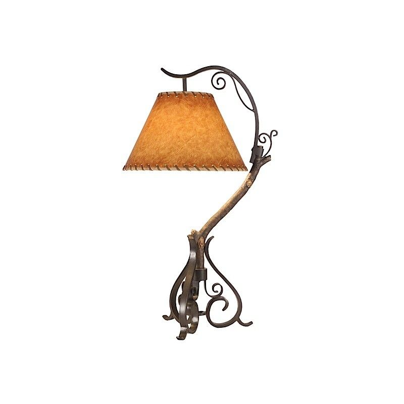 Shadow Mountain // Twig Hill Table Lamp