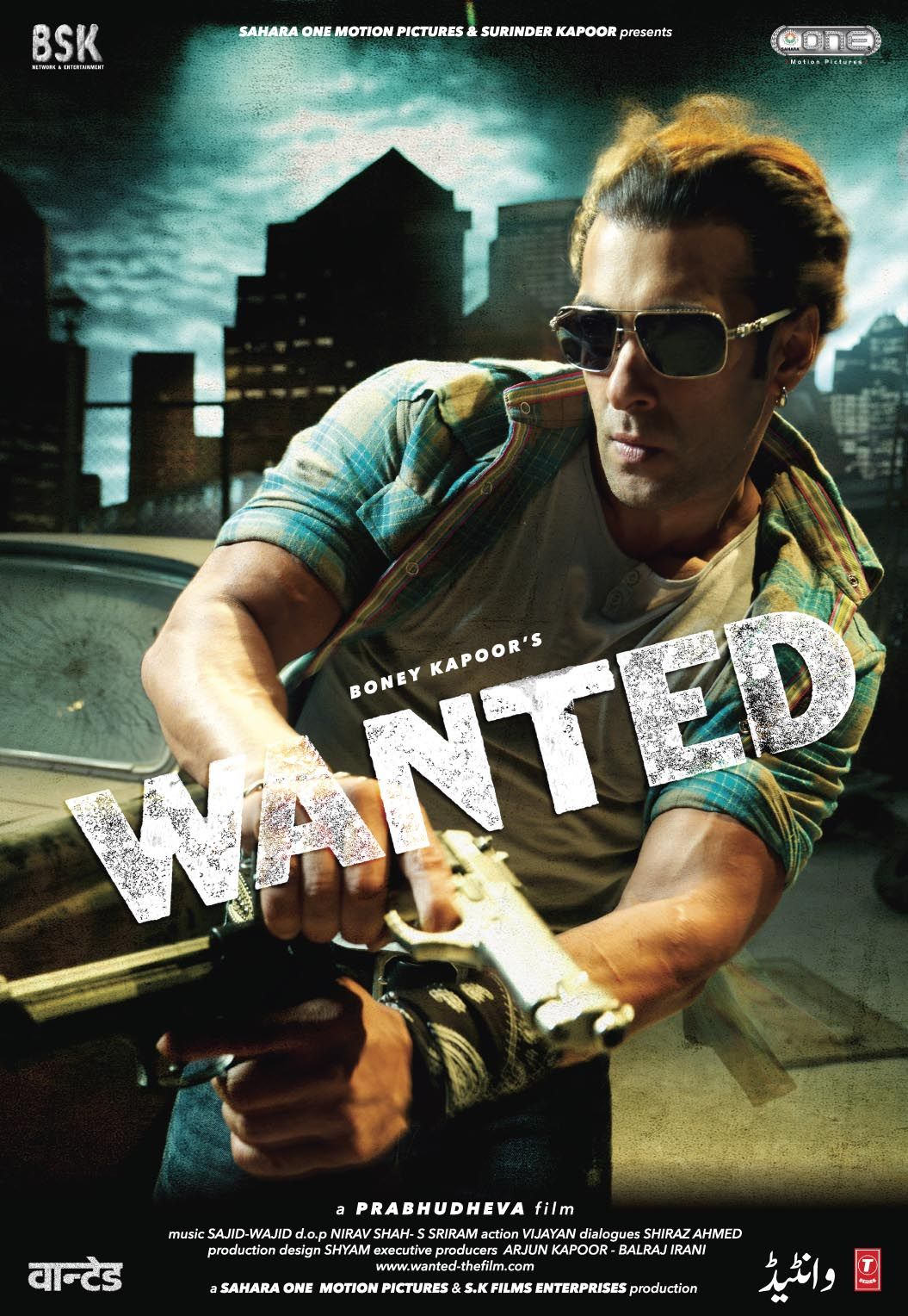 Wanted 2009 Salman Khan Hindi Movie Posters In 2019 Full
