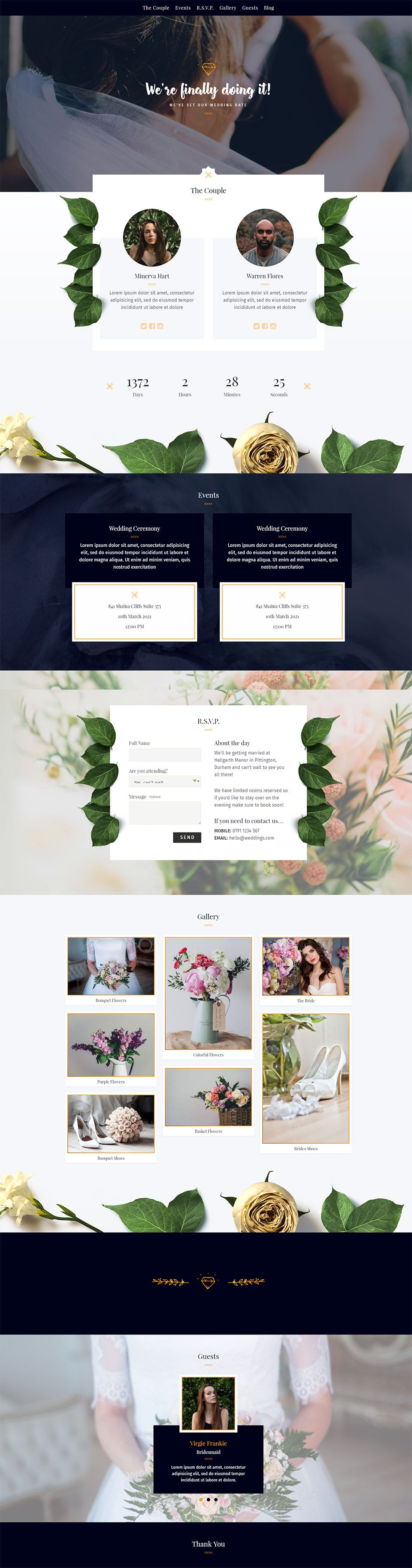 wedding invitation template themeforest%0A Elegant Wedding  Responsive Wedding WordPress Theme