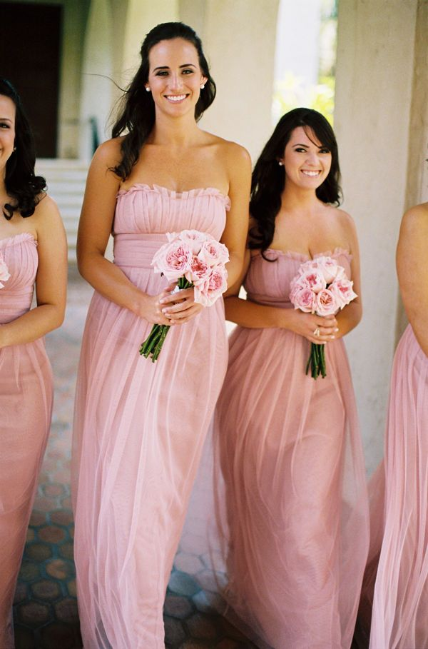 Orlando Wedding by Smitten Photography | Pink bridesmaid bouquets ...