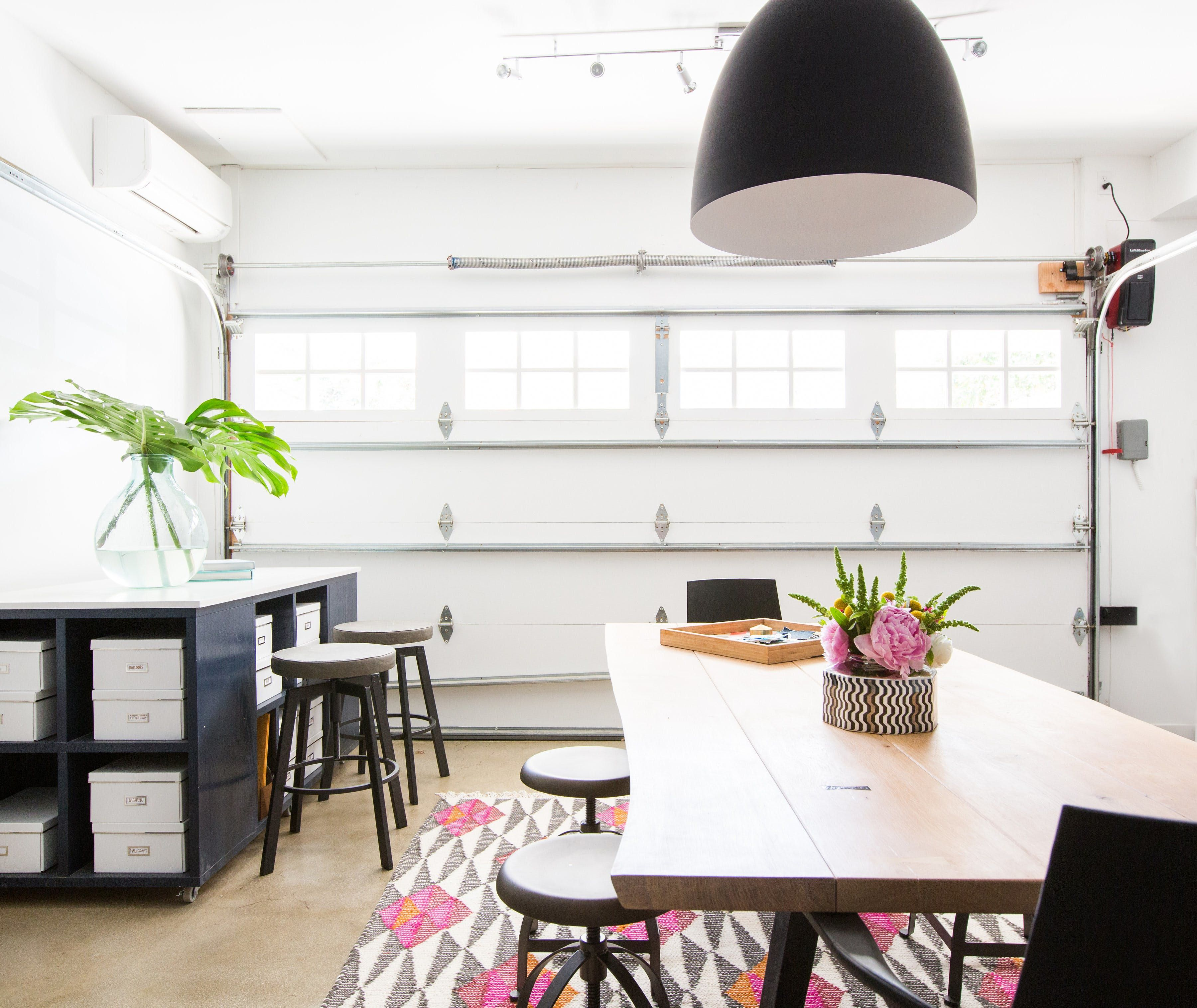 This HGTV Star Completely Transformed Her Garage Into an ...