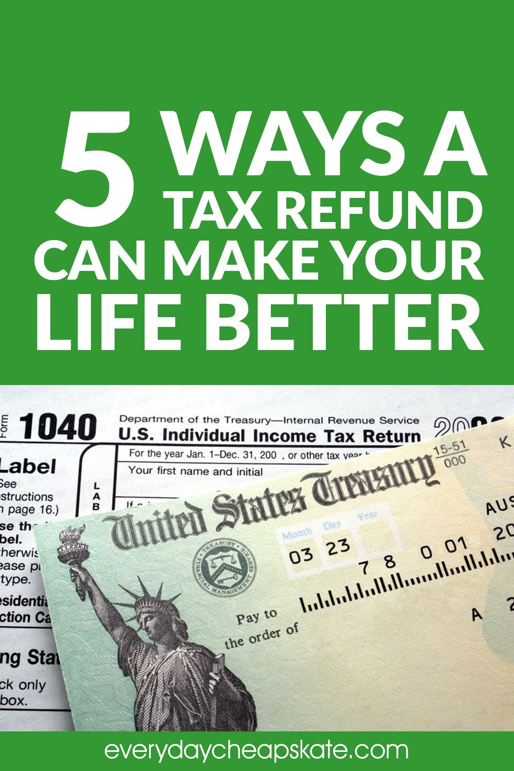 5 ways a tax refund can make your life better in 2020