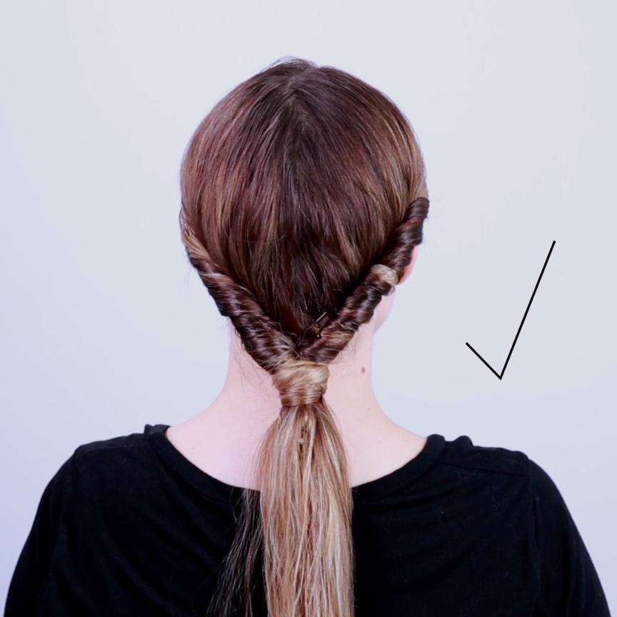 2 Minute Style For Wet Hair Hair Styles Long Hair Styles Hair Hacks