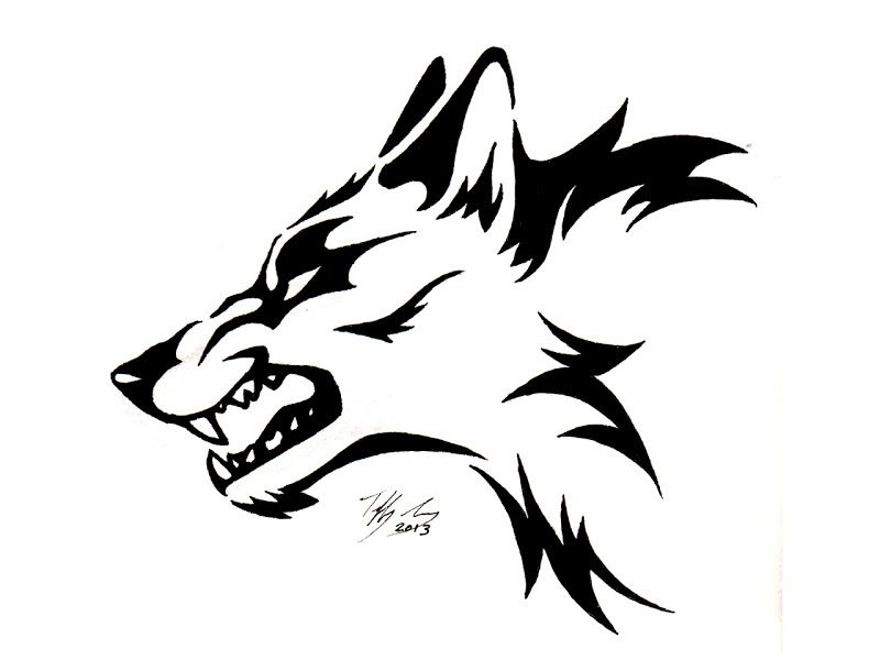 Some Of The Best Tattoos From Our Many Animal Tattoo Designs Title Tatuajes De Lobos Tribales Dibujos Tribales Dibujo De Cabeza De Lobo